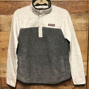 Vineyard Vines Sherpa Shep Shirt snap pullover